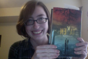 I was so excited about my copy I had to take a picture with it. It happens.
